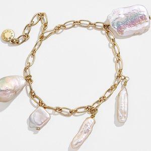 NWT Anthro BaubleBar Caye Pearl Bracelet